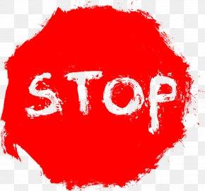 Stop Sign Transparent - Stop Sign Clip Art PNG
