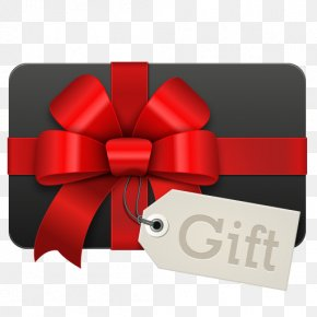 Gift - Gift Card Holiday Christmas Gift Clip Art PNG