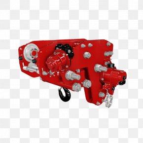 Hoist Machine Electric Motor Beam Metric Ton PNG