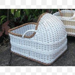 Crib - Wicker Basket Furniture Rattan Cane PNG