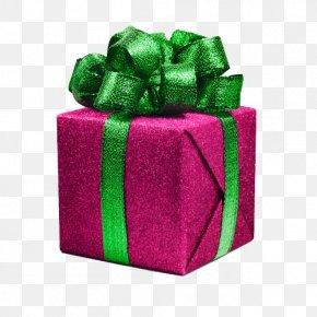 Creative Gifts - Christmas Gift Ribbon Photography PNG