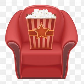 Cinema Seats - Chair Popcorn Cinema Seat PNG