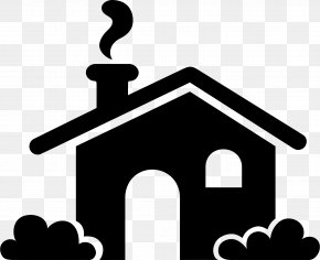 House Icon Images - Clip Art Silhouette House Image PNG