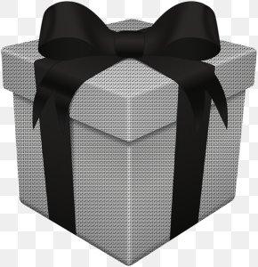 White Gift Box - Decorative Box Gift Clip Art PNG
