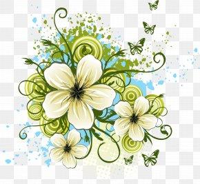 Floral - Desktop Wallpaper Flower Clip Art PNG