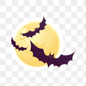 Vector Halloween Bat - Halloween Euclidean Vector Clip Art PNG