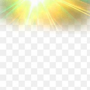 Yellow Atmospheric Light Effect Element - Light Yellow Atmosphere Of Earth Chemical Element PNG