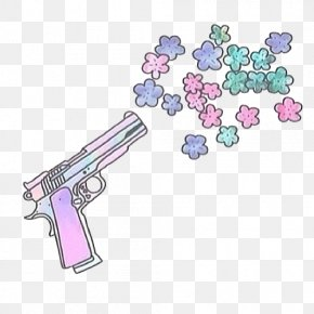 Pistol Graffiti - Firearm Pistol Drawing Clip PNG