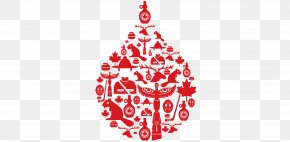 Blood Donation - Flag Of Canada Beaver Maple Leaf PNG