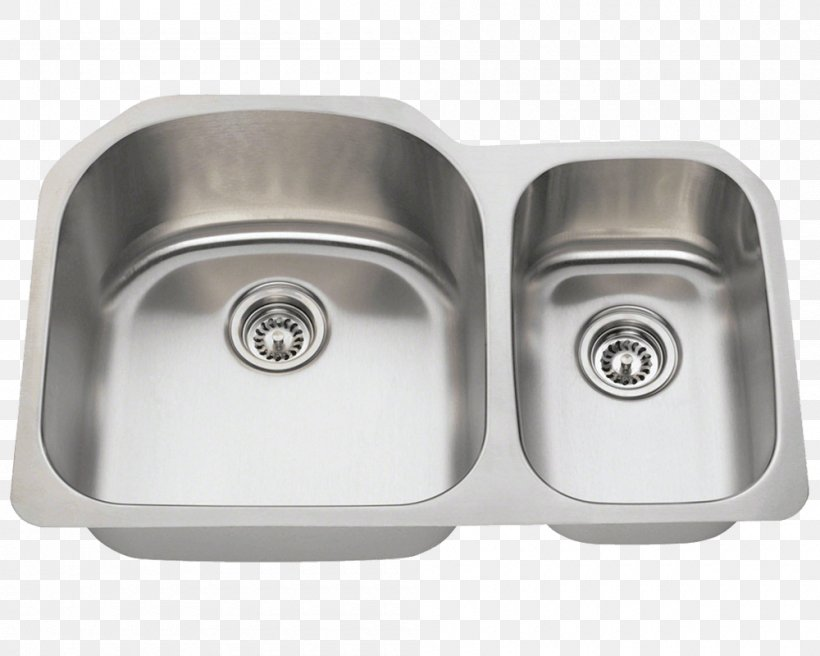 Kitchen Sink Stainless Steel, PNG, 1000x800px, Sink, Bathroom, Bathroom Sink, Brushed Metal, Cast Iron Download Free