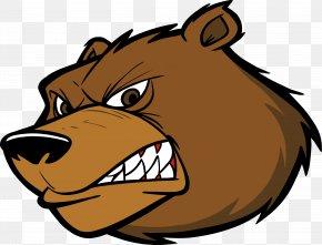 Bear - American Black Bear Kodiak Bear Clip Art PNG