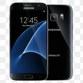 Galaxy S7 - Samsung GALAXY S7 Edge Android Black Onyx Verizon Wireless PNG
