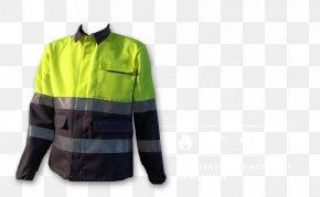 Safety Jacket - Jacket Clothing Sleeve Giubbotto Workwear PNG