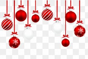 Christmas Balls - Christmas Ornament Illustration PNG
