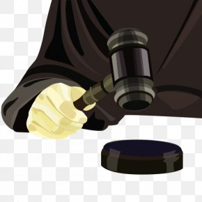 Legal Hammer - Judge Court Dress Gavel PNG