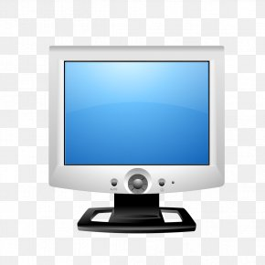 Classic Computer Monitor Image - Computer Monitor Screenshot Software Icon PNG