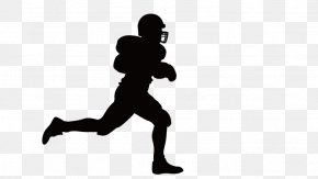 Running Man - Wall Decal Window Sticker American Football PNG