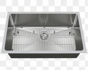 Sink - Kitchen Sink MR Direct Stainless Steel Tap PNG