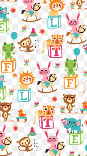 Cartoon Animals Vector Background - Cartoon Clip Art PNG