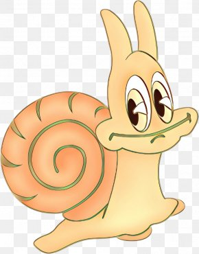 Animation Sea Snail - Cartoon Clip Art Snail Snails And Slugs Animal Figure PNG