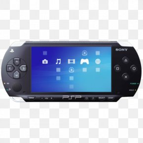 PlayStation Portable - PSP-E1000 PlayStation Portable LittleBigPlanet ModNation Racers PNG