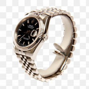 Rolex Watch Black Watch - Rolex Datejust Automatic Watch PNG