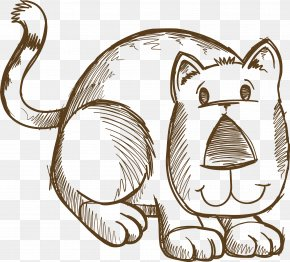 Lion - Sketch Doodle Vector Graphics Drawing Image PNG