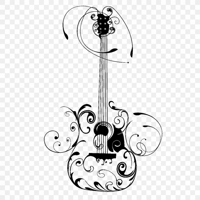 Electric Guitar Drawing Art Sketch Png 1200x1200px Watercolor Cartoon Flower Frame Heart Download Free