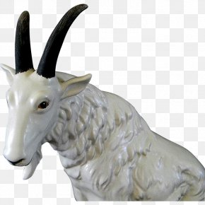 Goat - Goat Sheep Cattle Statue Jeffrey Horn PNG