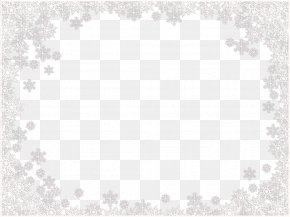 Snowflakes Border Frame Image - Image File Formats Lossless Compression PNG