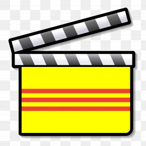 Board - Silent Film Clapperboard Clip Art PNG