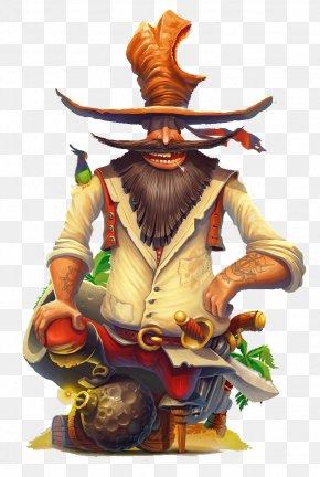 Hat Warrior Character Illustration - Character Drawing Art Illustration PNG