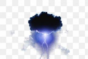 Thunder And Lightning - Cloud Lightning Sky Thunder Rain PNG