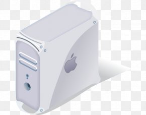 Vector Single White Apple Chassis - IPad Macintosh Computer Case Apple PNG