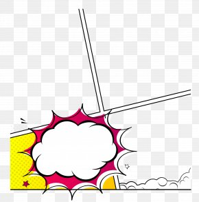 Yellow Explosion Border - Paper Explosion Clip Art PNG