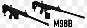 Machine Gun - Barrett M98B .338 Lapua Magnum Barrett Firearms Manufacturing Machine Gun PNG