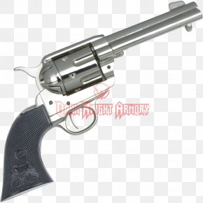 Weapon - Revolver Firearm Colt Single Action Army Fast Draw Pistol PNG