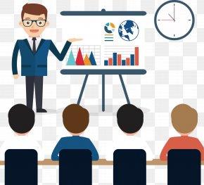Man - Business Startup Company Organization Elevator Pitch PNG