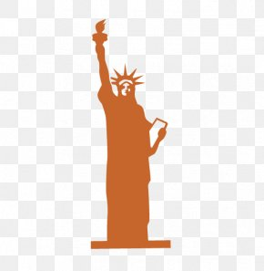 Goddess - Statue Of Liberty Sculpture Icon PNG