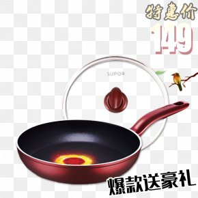 Pan Promotions - Frying Pan Stock Pot Wok PNG