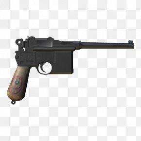 Mauser Pistol - Mauser C96 Magazine Pistol Firearm PNG