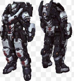 Cyborg - Armour Powered Exoskeleton Heavy Infantry Body Armor PNG