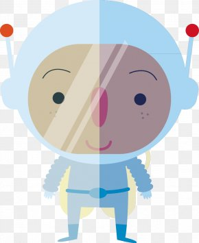 Astronaut - OUTER SPACE Cartoon Astronaut PNG