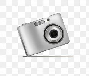 Hand-painted Cameras Creative - Digital Cameras PNG
