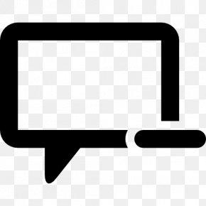 Dialogue Box - Social Media Conversation Speech Balloon PNG
