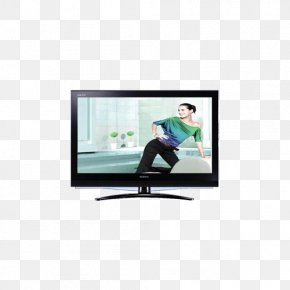Colour TV - Treadmill LCD Television Liquid-crystal Display Color Television PNG