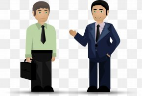 Business People Workplace Elite Material Picture - Cartoon Drawing Animation PNG