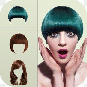 Hair - Hairstyle Fashion Hair Style Salon-Girls Games Beauty Parlour PNG
