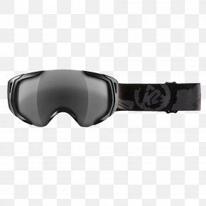 GOGGLES - Goggles Glasses K2 Sports Skiing Mineralglas PNG