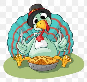 Pie Cartoon Cliparts - Turkey Meat Pumpkin Pie Pecan Pie PNG